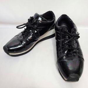 Jeffrey Campbell Oil Slick Iridescent Sneakers